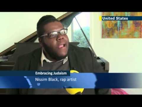 Black Rapper Converts to Judaism - Nissim Black