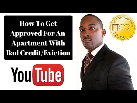 Get Approved For An Apartment With Bad Credit/Eviction. 850 Club Credit Consultation