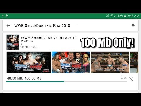 How To Download And Play WWE SmackDown Vs. Raw 2010 In Android Phone