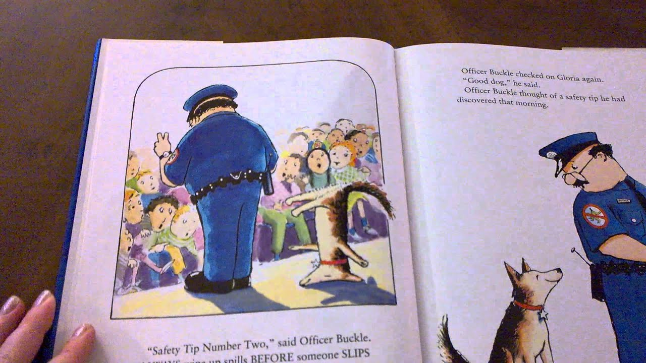Officer Buckle And Gloria By Peggy Rathman Youtube Alphaprints Happy Dog Premium