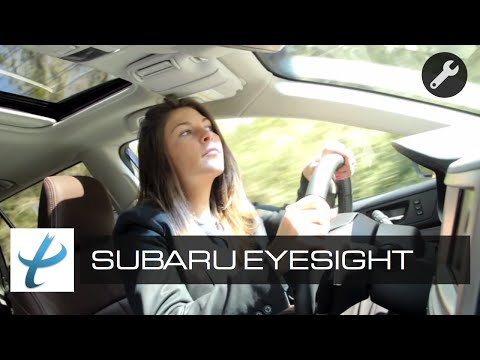 Subaru Eyesight Review: Adaptive Cruise Control, Lane Departure Warning, & Demo