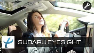Subaru Eyesight System Live Test and Review