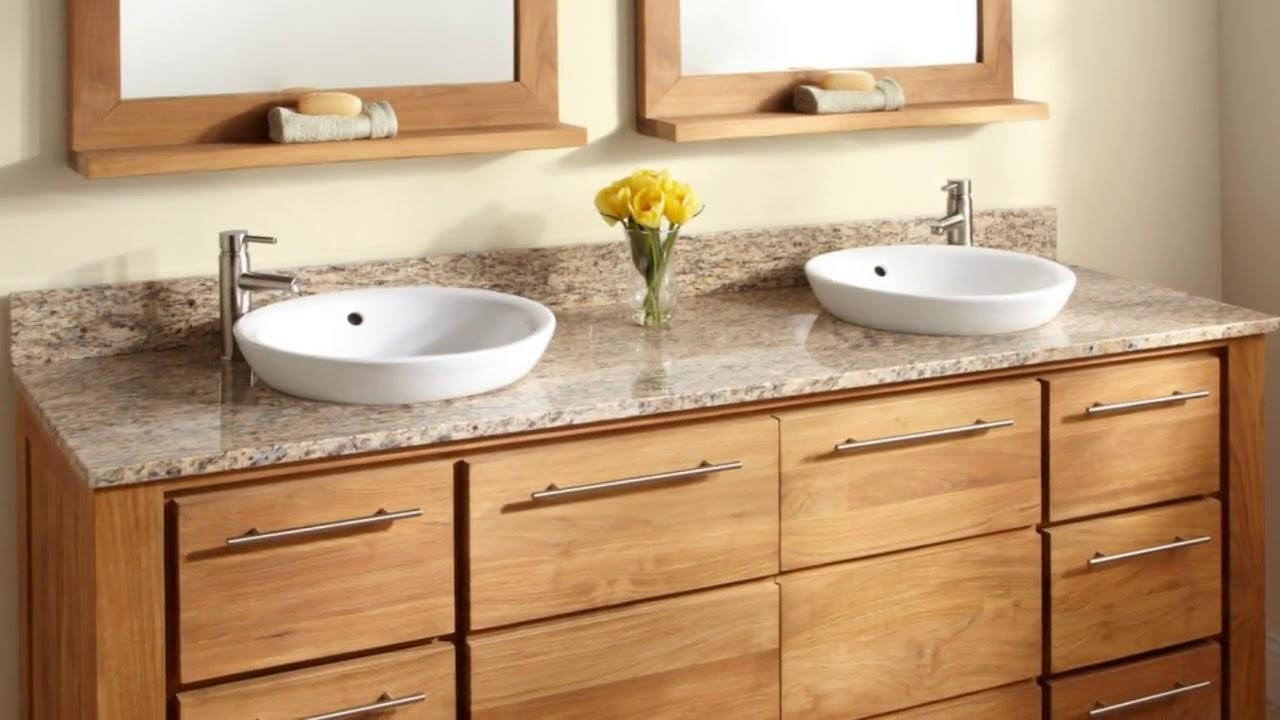 Wooden Bathroom Furniture Oak Cabinets