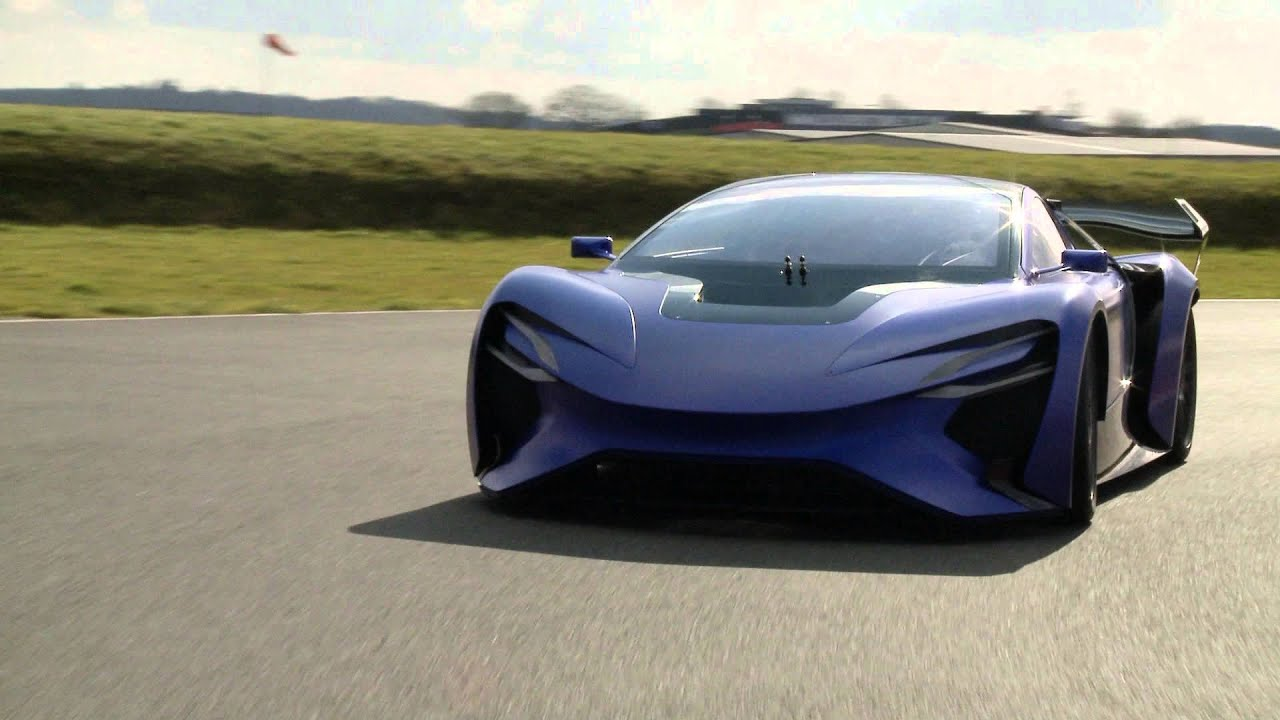 2016 Techrules At96 Trev Supercar Concept: Techrules AT96 TREV Supercar Concept At Silverstone