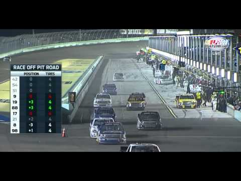 2014 Ford Ecoboost 200 at Homestead-Miami Speedway - NASCAR Camping World Truck Series