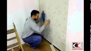 Instalación de papel pintado - parte 2 de 2