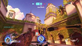 Overwatch Gameplay Hanzo Shimada Capture