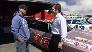 Interview of Shaun about Roy Mayne Impala at 2010 Monterey Motorsports Reunion