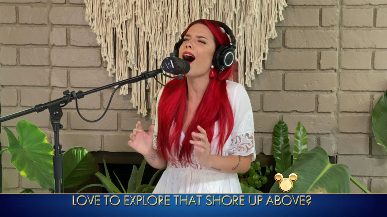 Watch Halsey's Disney Family Singalong Performance ...