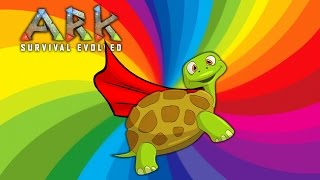 FLYING TURTLE  -  (ARK: Funny Moments)