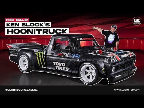LBI Limited To Sell Ken Block's Famous 1977 Ford F-150 HOONITRUCK