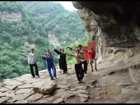 Taijiquan in Wudang Mountains 2008