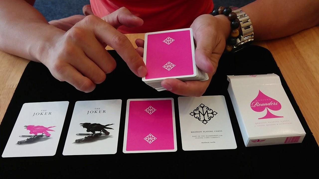 Kết quả hình ảnh cho PINK ROUNDERS PLAYING CARDS