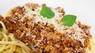 Authentic Bolognese Sauce - Video Recipe