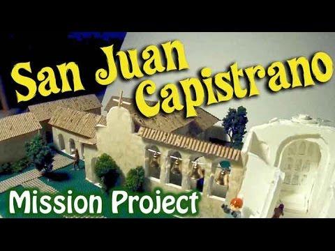 Mission San Juan Capistrano: Mission Project