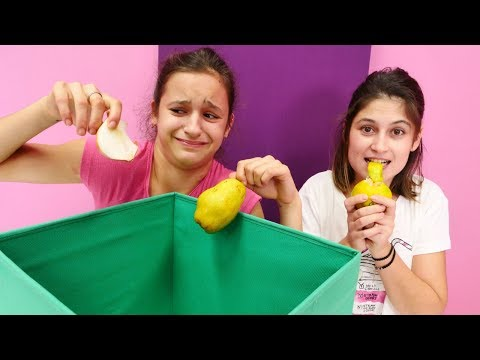 Ayşe ve Asu Ela ile Challenge. Kutuda ne var?