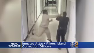 Inmates Attack Rikers Island Correction Officers