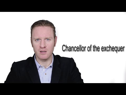 Chancellor Of The Exchequer - Meaning | Pronunciation || Word Wor(l)d - Audio Video Dictionary