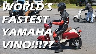 World's Fastest Yamaha Vino Scooter