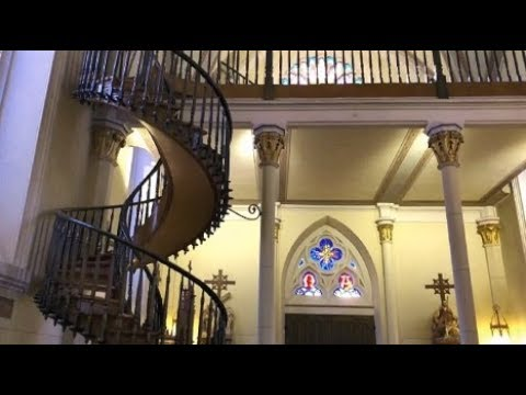 Santa Fe Loretto Chapel Miraculous Stair Youtube | Spiral Staircase Loretto Chapel | St Joseph | Immaculate | Gothic | Dangerous | Medieval