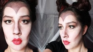 Maleficent Halloween Make Up