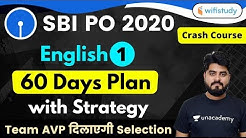 3:00 PM - SBI PO 2020 (Prelims) | English by Vishal Sir | Introduction