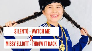 MISSY ELLIOTT - THROW IT BACK vs SILENTO - WATCH ME by the youngest DJane - 7 years old DJ MICHELLE