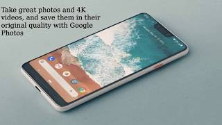Google Pixel 3 - modern new design and Apps