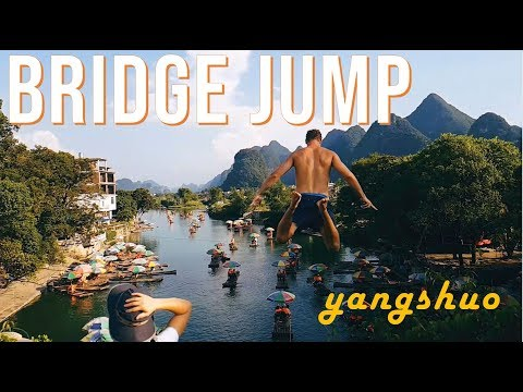 What to do in China - swimming in Yangshuo