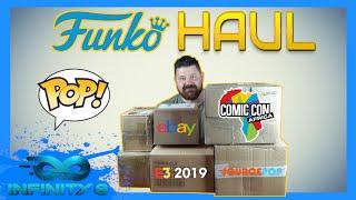FUNKO HAUL - COMIC CON AFRICA - EBAY - E3 - SOURCEPOP