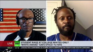 """ABL Debates Anthony Rogers-Wright About """"White Awake"""" College Group & Race-Based Admissions on RT"""