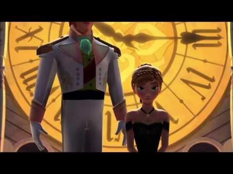 Frozen MMD Hans and Anna Clock Dadada