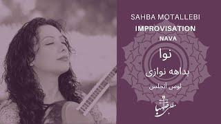 Sahba Motallebi - Setar Improvisation صهبا مطلبی
