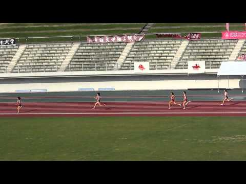 20110717西日本学生陸上 女子1600mR決勝