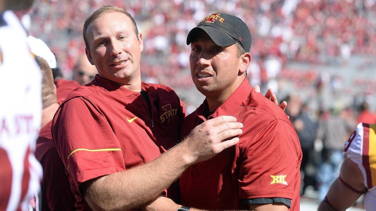Peterson: Iowa State's Matt Campbell is a man of his word, and if ...