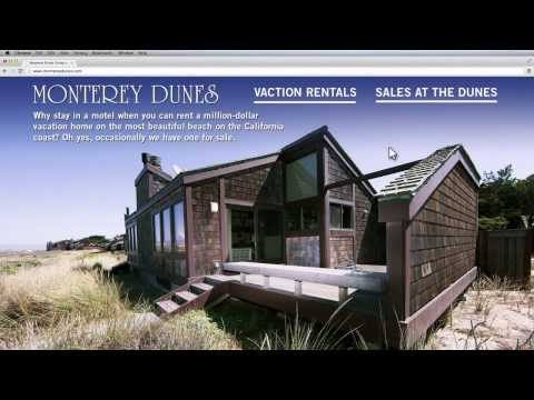 Monterey Dunes Vacation Rentals and Beachfront Homes For Sale North Monterey County CA 95039 HD