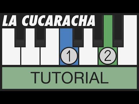 La Cucaracha - How to Play - Easy Piano Tutorial