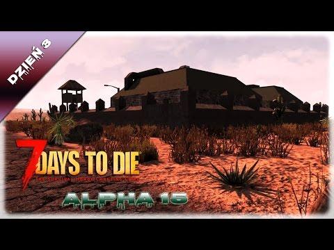Baza wojskowa, hotel i polowanie na pieseczki/7 Days to Die [Alpha 15], Dzień 3
