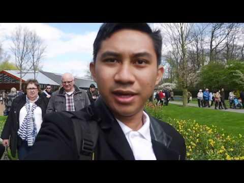 """Vlog Ikrom Mustofa """"Cuap-cuap Maba Wageningen di Keukenhof"""""""