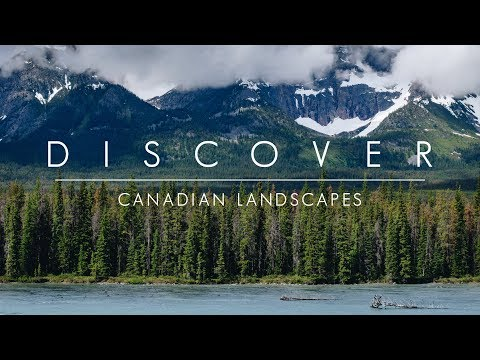 Discover - Canadian Landscapes   British Columbia & Alberta Time lapses in 4K