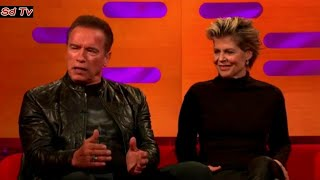 Graham Norton Show 18/10/2019 Arnold Schwarzenegger, Linda Hamilton, Debbie Harry, Nadiya Hussain