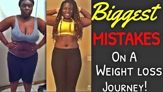 BIGGEST Weight Loss MISTAKES 😓(Tips on how to be successful!)