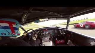 Goodwood Revival 2014 RAC TT won by David Hart & Giedo vd Garde