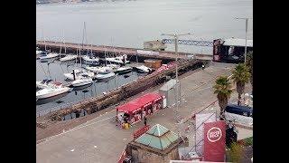 Al menos 300 heridos al desplomarse una pasarela de madera durante el festival O Marisquiño de Vigo