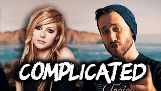 AVRIL LAVIGNE - Complicated (Pop Punk cover by Jonathan Young)