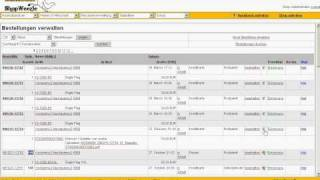 Shopweezle Admin: Rechnungsnummer zuweisen