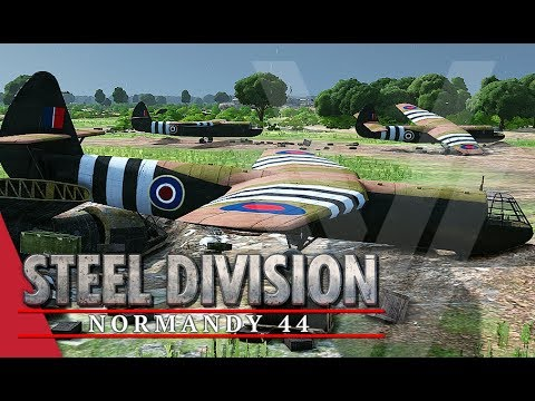 Red Devils! Steel Division: Normandy 44 Gameplay (Pegasus Br