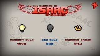 Binding of Isaac: Afterbirth+ Item guide - Vibrant Bulb, Dim Bulb, Cracked Crown