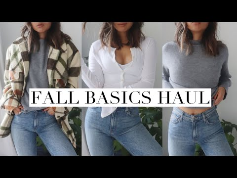 FALL TRY-ON HAUL | (aritzia, reformation , thrifted...)
