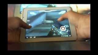 Xolo QC800 HD Games - Nova 3, Amazinf Spiderman, Real steel.